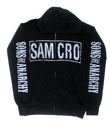 Samcro Logo - Sons Of Anarchy Hooded Sweatshirt