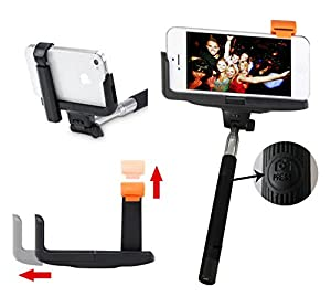 smartek18 best selfie stick iphone 6 plus black lets you take amazing photos with. Black Bedroom Furniture Sets. Home Design Ideas