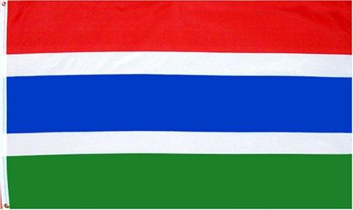 Gambia national flag