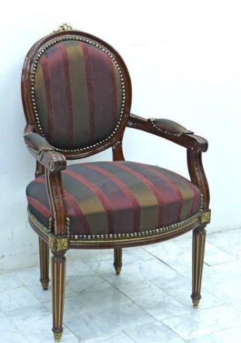 Poltrona Barocco intagliato Rococo moch0770