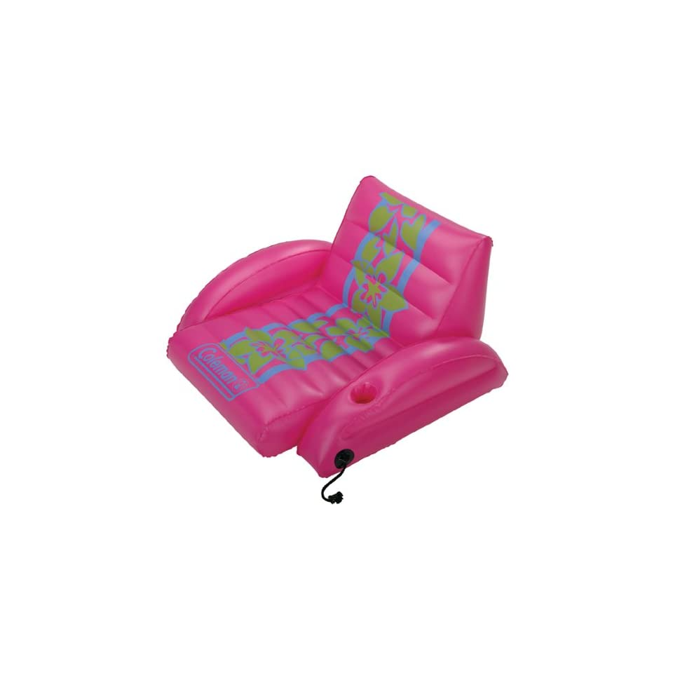 Coleman 5990 122 Inflatable Floating Lounge Chair Sports