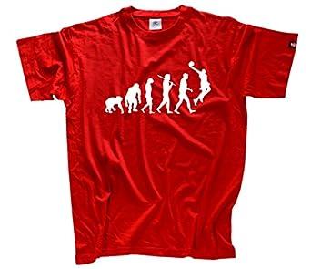 Standard Edition Basketball Evolution T-Shirt S-XXL Rot L