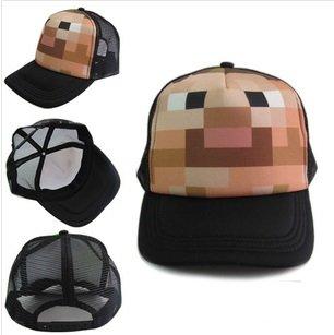 Minecraft Steve Face Cap by MC
