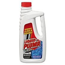Liquid-Plumr 00242 Regular Clog Remover, 32 fl oz Bottle