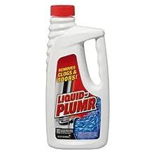 Liquid-Plumr 00242 Regular Clog Remover, 32 fl oz Bottle