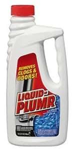 Liquid-Plumr 00242 Regular Clog Remover, 32 fl oz Bottle (Case of 9)