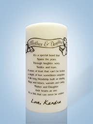 Personalized Candle Store Mother and Daughter Candles 8\