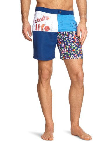 Desigual Bañador Cortes Men's Swim Shorts Royal X-Large