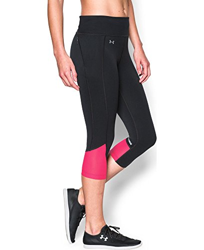 Under Armour Women's Fly-By Run Capri, Black (003), Medium (Under Armour Capri Workout Pants compare prices)