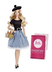 Mattel Barbie X8420 - Collector Dolls of the World Frankreich, Sammlerpuppe