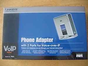 Linksys PAP2-NA VOIP Analog Telephone Adapter (Unlocked)