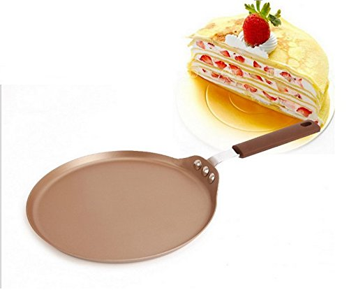 Astra shop Classic Carbon Steel Crepe Pan/ Griddle, 9-Inch, Champagne Gold (Octopus Cake Pan compare prices)