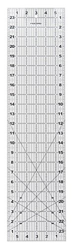 Great Deal! Fiskars 6x24 Inch Acrylic Ruler (187620-1001)