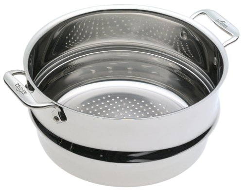 All-Clad 5708-ST Stainless Steel Professional Steamer Insert / Cookware, Silver