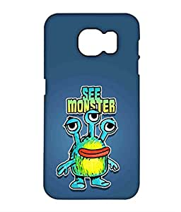 Kritzels - See Monster - Case For Samsung S7