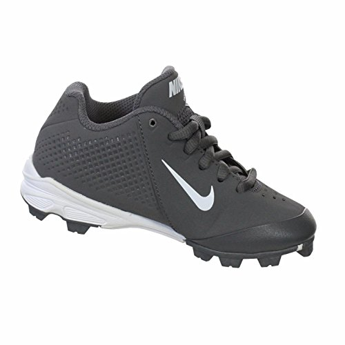 NIKE VAPOR KEYSTONE LOW GRAPHITE/WHITE YOUTH MOLDED BASEBALL CLEATS 2 Y (Youth Vapor Keystone 2 compare prices)