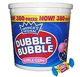 Dubble Bubble Tub, Original Flavor, 380-Count