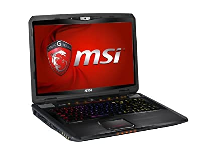MSI GT70 2QD-2292US 17.3-Inch Gaming Laptop (Black)