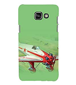 printtech Airplane Superfast Back Case Cover for Samsung Galaxy A5 (2016)