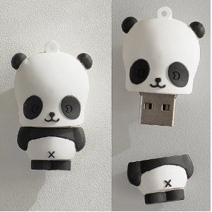 High Quality 16 GB Baby Panda Shape USB Flash Memory Drive from T &  J