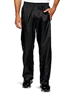 Trespass Packa Unisex Tech Pack Away Trousers - Black - Extra Small
