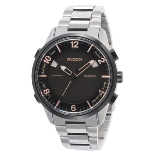 [リコー]RICOH 腕時計 シュルードリマインダー 電磁誘導充電式 10気圧防水 ピンク 660007-81 メンズ