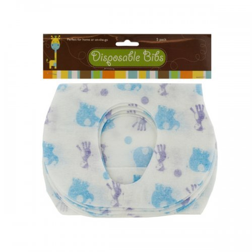 Disposable Absorbent Baby Bibs Set (Available in a pack of 12) - 1