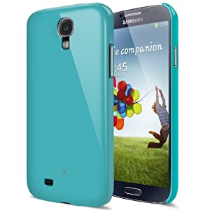 [Turquoise Blue] JL316 Samsung Galaxy S4 Case - Premium Slim Fit Hard Case - Eco Packaging - Verizon, AT&T, Sprint, T-Mobile, International, and Unlocked - Galaxy S 4 SIV S IV GS4 i9500 2013 Model
