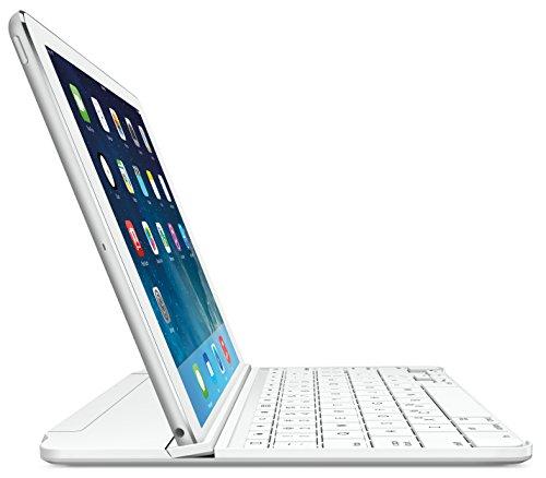 Logitech - Ultrathin Keyboard Cover For Apple Ipad Air - Sil