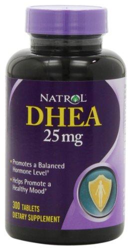 Natrol DHEA 25mg Tablets, 300-Count