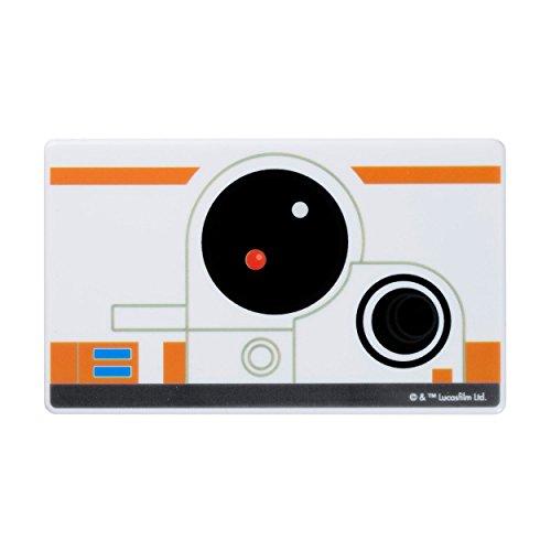 STAR WARS スターウォーズ モバイルバッテリー スマホ充電器 薄型 小型 軽量 3000mAh / Face Icon / BB-8