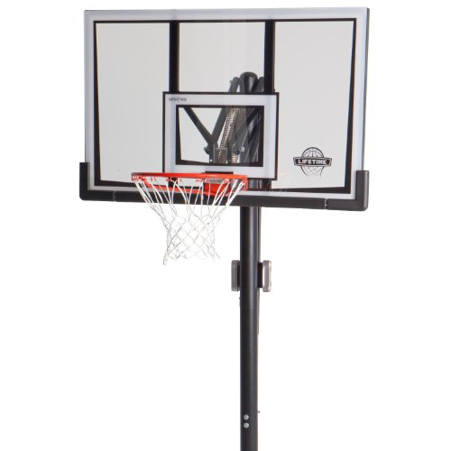 Lifetime 52-Inch Shatter-Proof Backboard In-Ground Basketball System