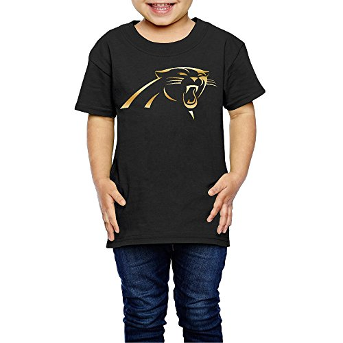Toddler Girl's Carolina Panthers Gold Logo