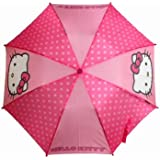 Hello Kitty Pink Child Size Small Umbrella with Molded Handle