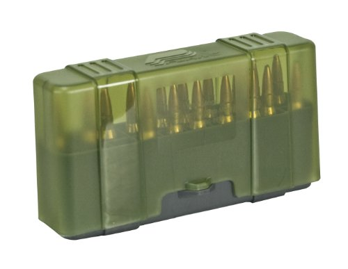 Plano 20 Round Rifle Ammo Case with Slip Cover, Large