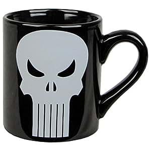 Marvel Comics PUNISHER Skull 14 oz Ceramic Coffee MUG