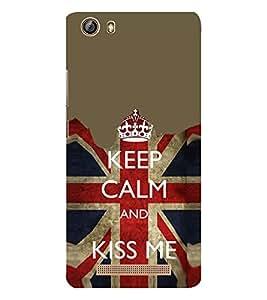 EPICCASE Kiss me Mobile Back Case Cover For Gionee Marathon M5 lite (Designer Case)