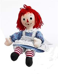 Amazon.com: Madame Alexander Dolls Raggedy Ann Cloth Doll