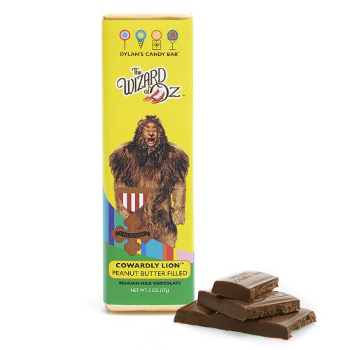 Dylan's Candy Bar Wizard of Oz - Cowardly Lion Peanut Butter filled Milk Chocolate Bar