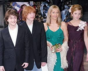 HARRY POTTER CAST #3 - Photo cinématographique en couleur - AFFICHE - 60x50cm