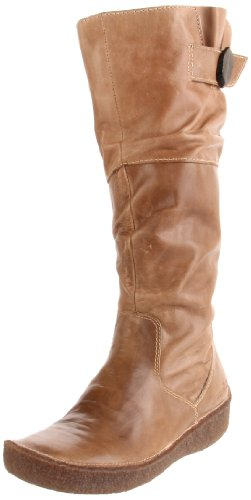 Groundhog Women's Slouch Dirty Beige Knee High Boot P960133002 4 UK