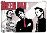 Music Band Green Day iPad Mini Case Covers Rock Band Billie Joe Armstrong Mike Dirnt Tre Cool Jason White Red/Green iPad mini Case