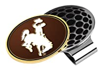 Wyoming Cowboys Golf Hat Clip & Ball Marker