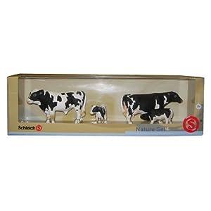 Schleich Holstein Cow Family Set, Large