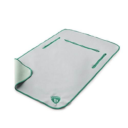 Ultimate Bib Junior, Moonbeam with Miami Mint (9 Months to 2 Years) - 1
