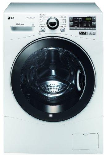 LG F12A8NDSA Lave linge 6 kg 1200 trs/min A+++ Noir, Blanc