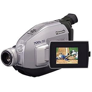 Panasonic PV-L354 VHS-C Camcorder w/20x Optical Zoom
