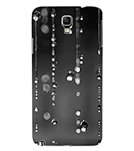 ColourCraft Rain Design Back Case Cover for SAMSUNG GALAXY NOTE 3 NEO N7505