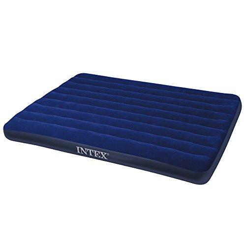 Intex Classic Downy Bed - Colchón hinchable, 152 x 203 x 22 cm
