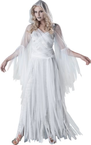 InCharacter Costumes, LLC Haunting Beauty, White/Grey, X-Large